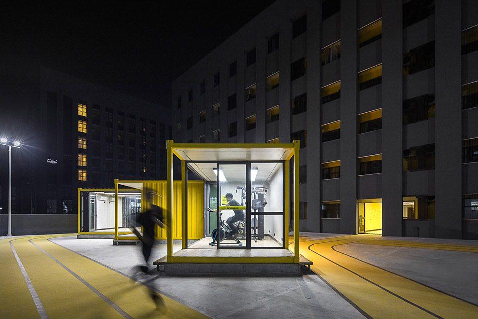 深圳坂田YOU+2.0国际社区旗舰店改造设计/普罗建筑