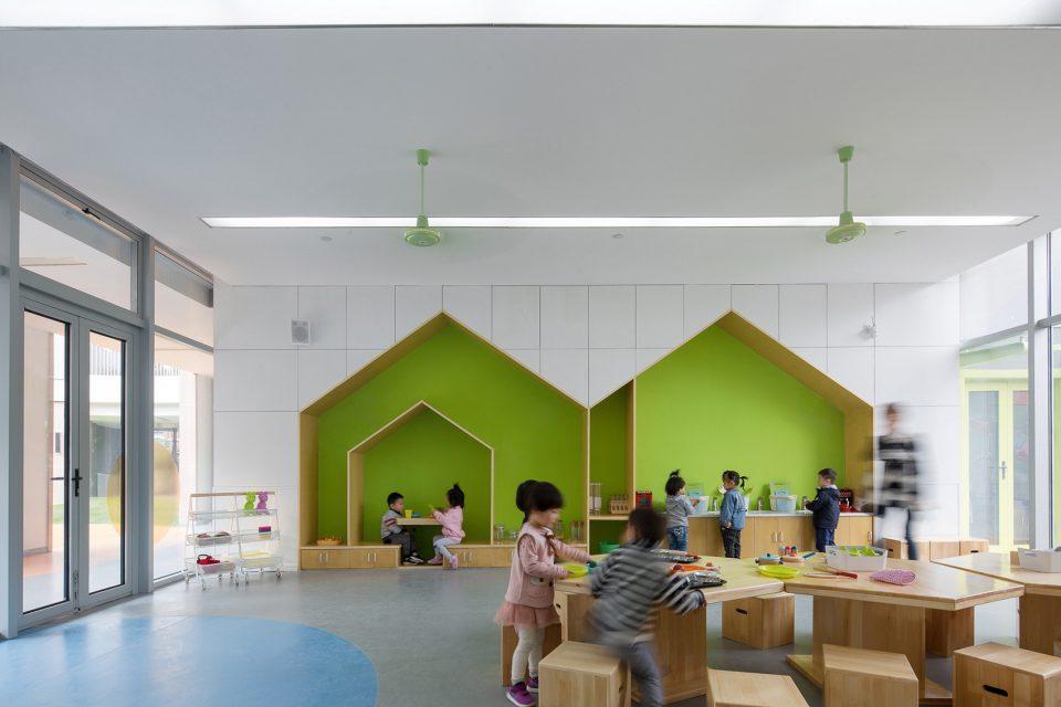 上海金蔷薇∞幼儿园/曼景建筑