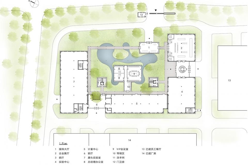 江苏无锡新苏集团研发中心建筑设计/米丈建筑