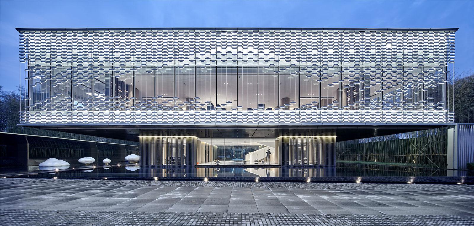 浙江杭州东原印未来生活体验中心建筑设计/上海天华