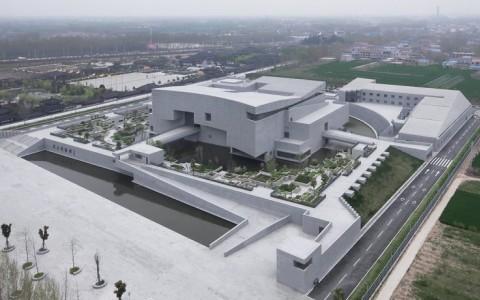 河南商丘博物馆  建筑letou国际米兰下载  /  李兴钢建筑工作室