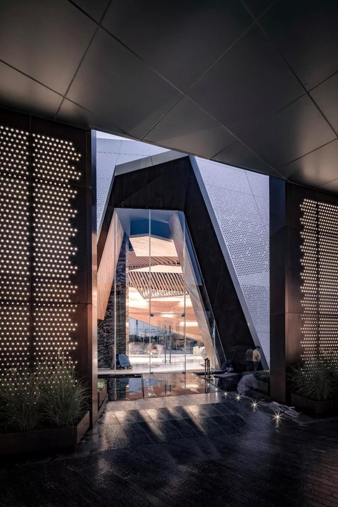 重庆龙湖昱湖壹号城市展厅建筑设计/天华设计