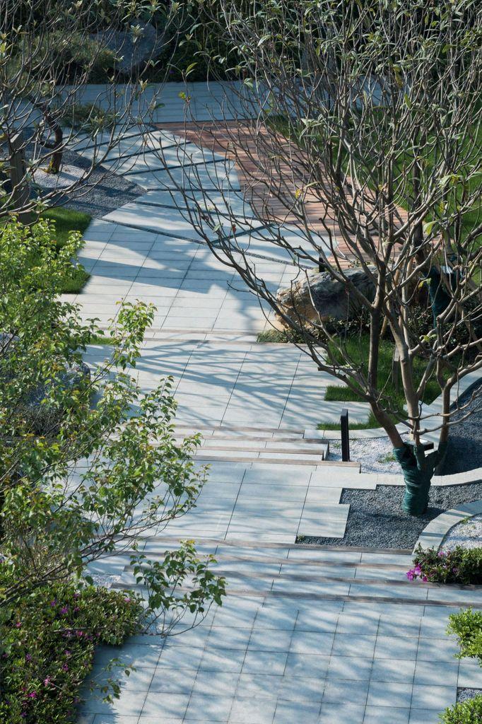 江苏无锡万科有山展示区景观设计/棠澍景观