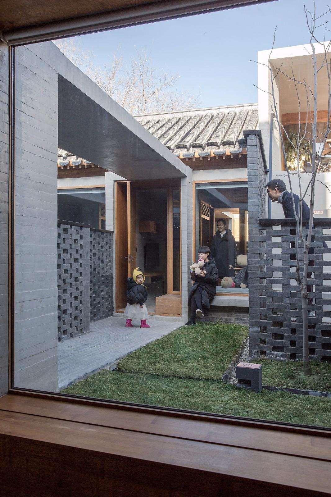 北京大院胡同28号改造建筑设计/李兴钢建筑工作室