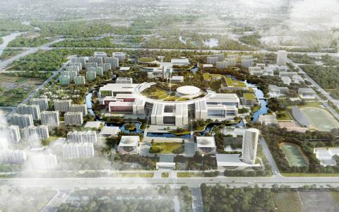 浙江西湖大学校园总体规划  建筑letou国际米兰下载方案  /  HENN