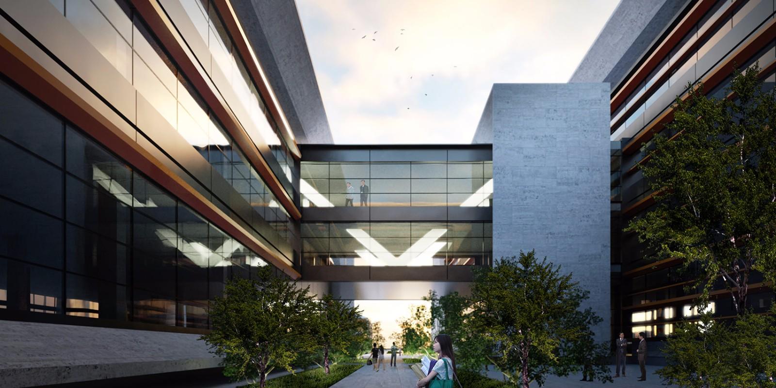 浙江西湖大学校园总体规划及建筑设计方案/HENN