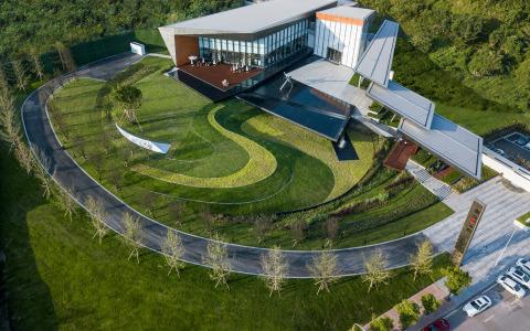 重庆朗诗乐府展示中心建筑景观letou国际米兰下载/HWA安琦道尔