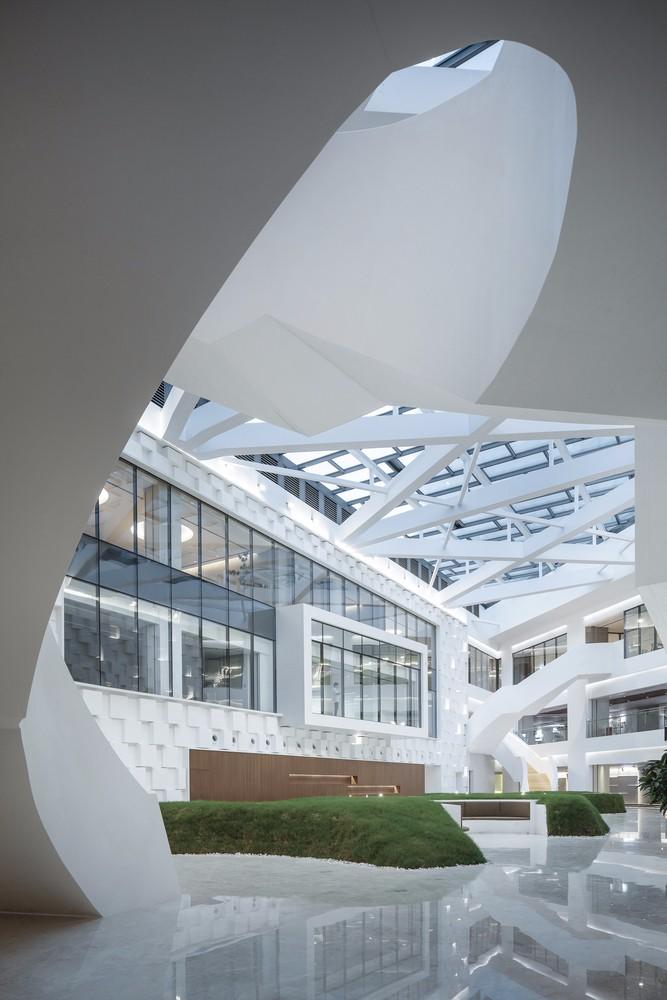 深圳腾讯新总部大楼滨海大厦室内设计/B+H Architects