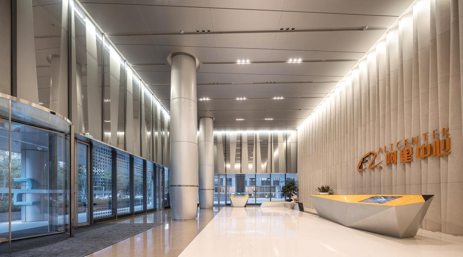 上海虹桥阿里中心室内装饰设计 / Benoy