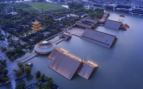 上海松江广富林遗址文化展示馆/悉地国际(CCDI)
