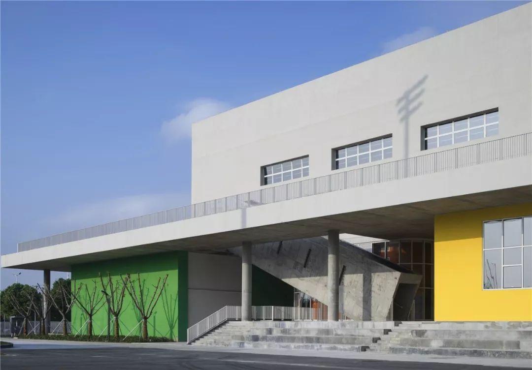 江苏苏州湾实验小学及幼儿园规划及建筑设计/九城都市