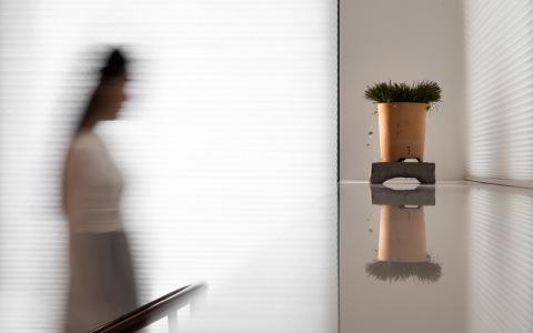 北京极简主义新中式公寓装饰letou国际米兰下载/艾克建筑