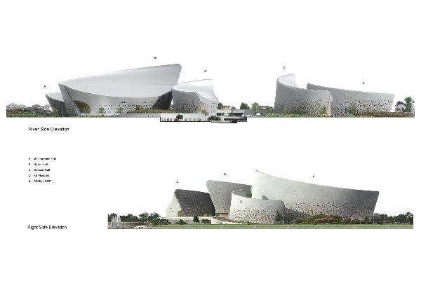 福建福州海峡文化艺术交流中心/PES建筑事务所