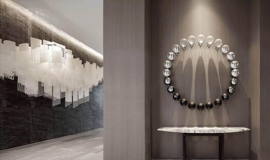 华侨城万科纯水岸营销中心室内设计/LSD