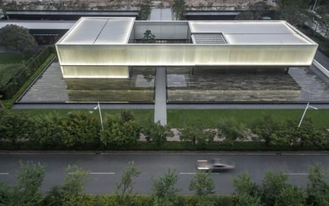 深圳湾超级总部基地城市展厅/深圳华汇