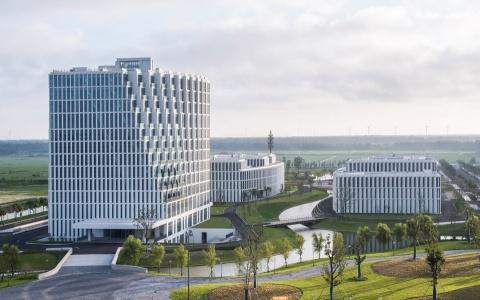 上海崇明体育训练基地一期项目1,2,3号楼建筑letou国际米兰下载/麟和建筑工作室