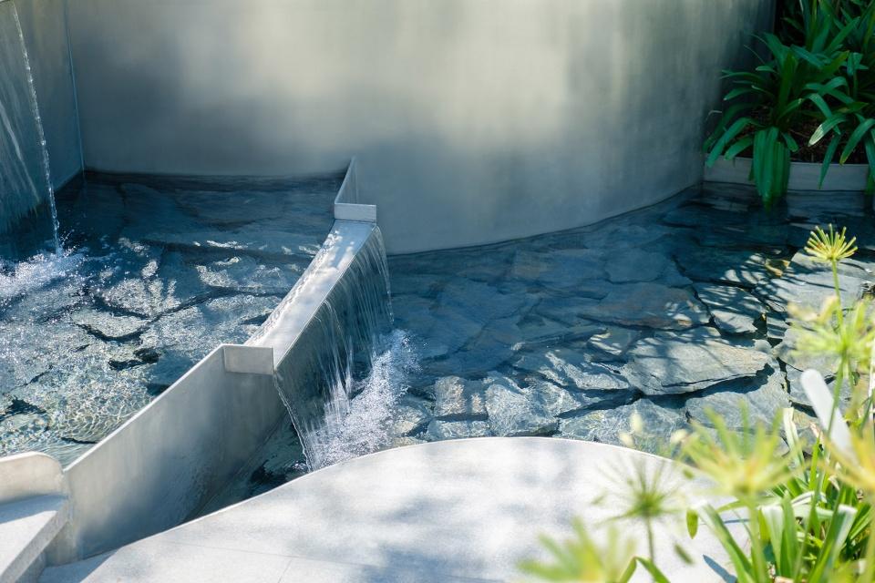 杭州千岛湖湖滨花园景观设计/拓柏景观