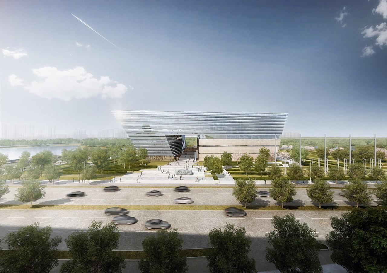 苏州第二图书馆建筑设计/GMP