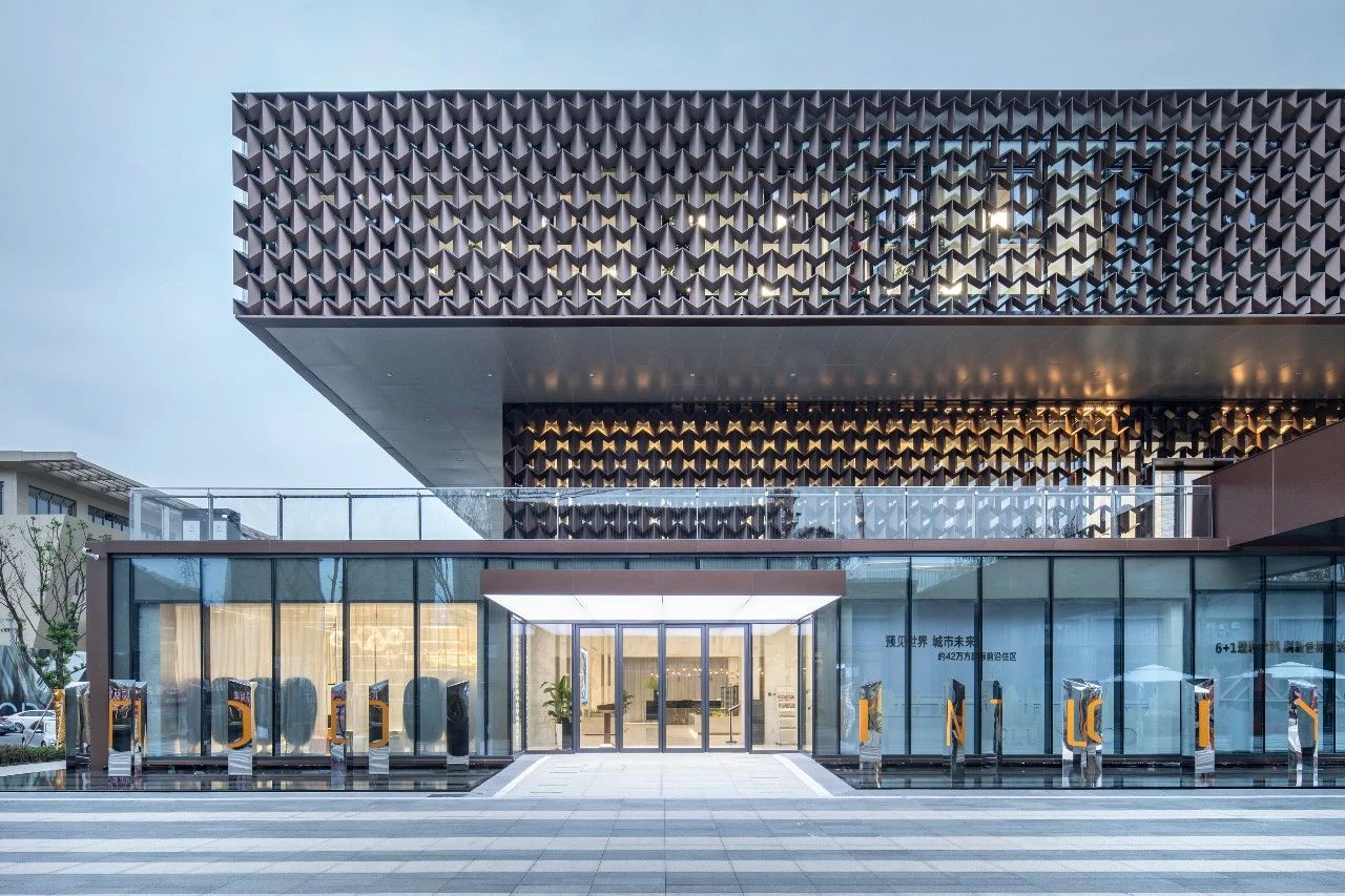 温州TOD国际新城售楼处建筑设计/NAN Architects