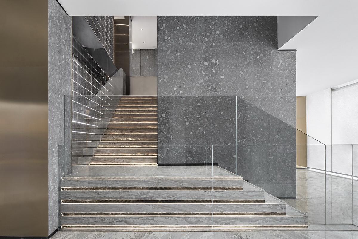 武汉景瑞天赋滨江售楼处室内设计/意巢设计