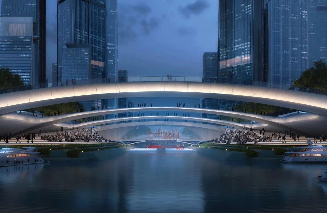 深圳湾超级总部基地城市设计优化国际咨询中标方案/立方设计