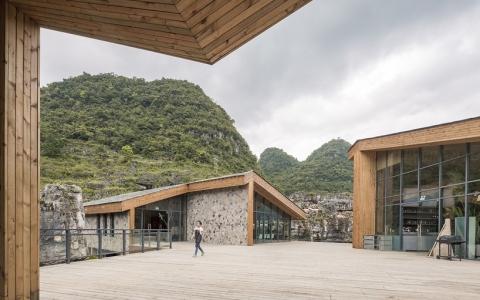 贵州安龙户外体育公园游客服务中心建筑letou国际米兰下载