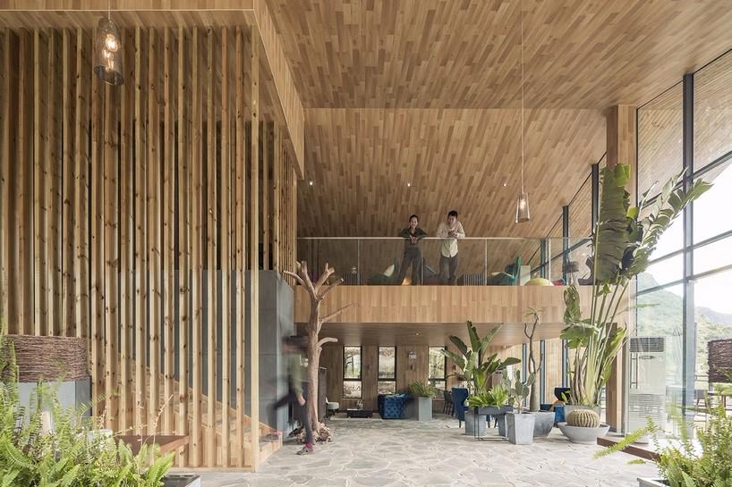 贵州安龙户外体育公园游客服务中心建筑设计