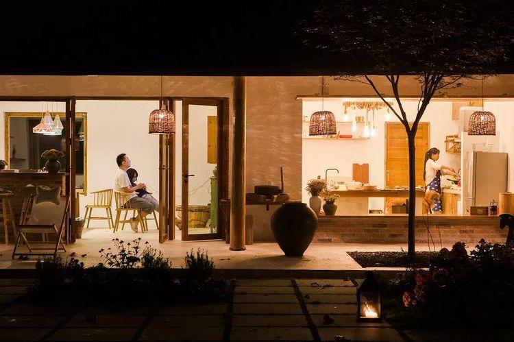 四川雅安茶园里的民宿建筑设计/使然建筑