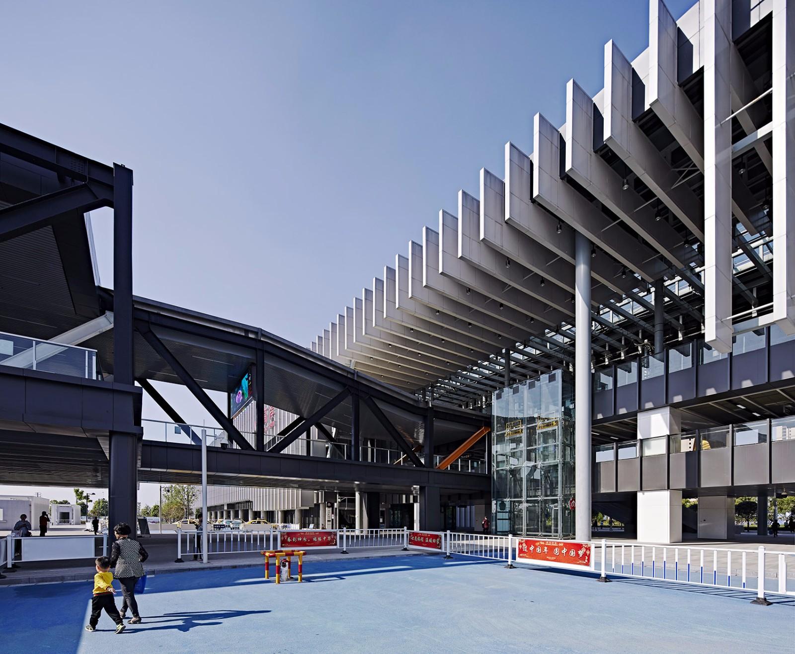 南京高淳苏皖交通枢纽中心一期建筑设计/BAU