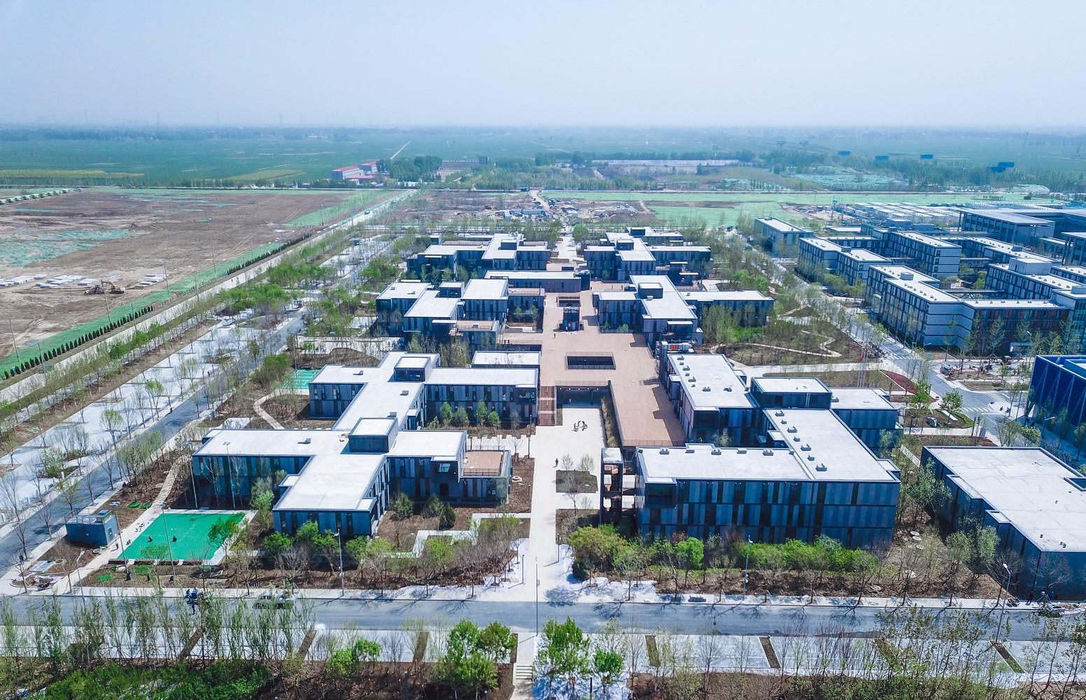 雄安市民服务中心企业临时办公区建筑设计/中国建筑设计研究院
