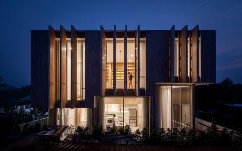 泰国独立住宅—平行世界之家建筑letou国际米兰下载/IDIN Architects