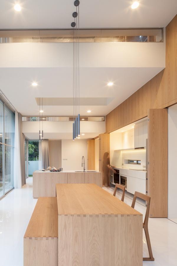 泰国独立住宅—平行世界之家建筑设计/IDIN Architects