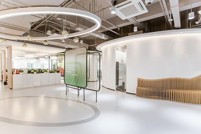 上海鲲驰办公楼室内装饰设计/飞睿建筑