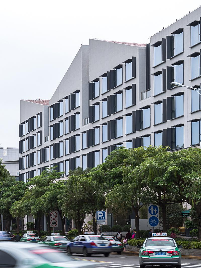 厦门佳逸希尔顿格芮精选酒店建筑设计/汤桦建筑设计