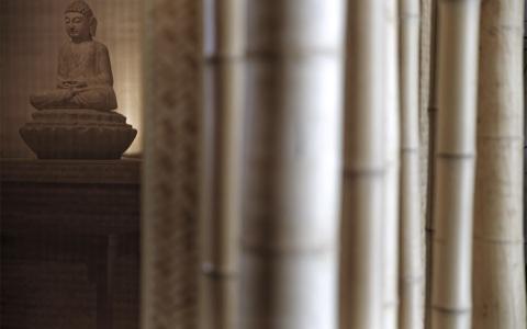 浙江安吉灵峰寺讲堂室内letou国际米兰下载/上海善祥建筑