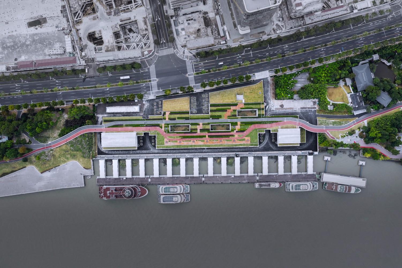上海M2游船码头景观设计/同济原作设计工作室