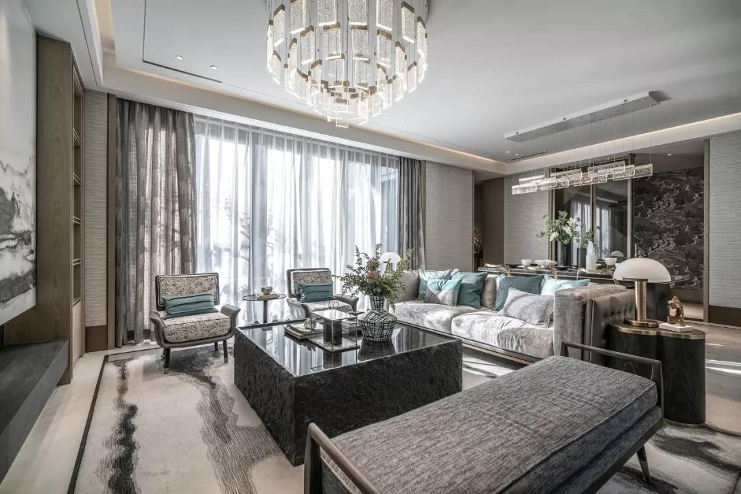 山东济南新城玺樾别墅室内装饰设计/布鲁盟室内设计