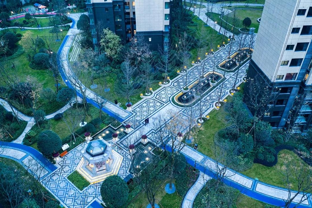 成都中海右岸景观设计/EADG泛亚国际