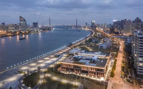 上海印力滨江道办公楼改造建筑和室内letou国际米兰下载/德国HPP亨派建筑