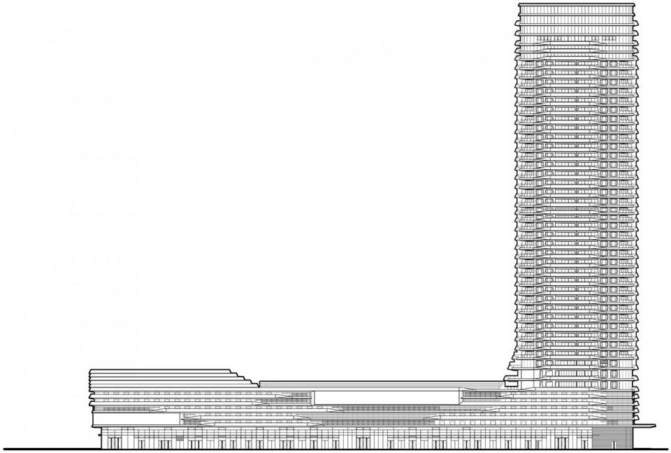 深圳中洲中央公园商业综合体建筑设计/柏涛设计