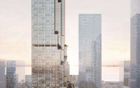深圳湾恒力集团总部办公大楼建筑letou国际米兰下载竞赛方案/Mecanoo
