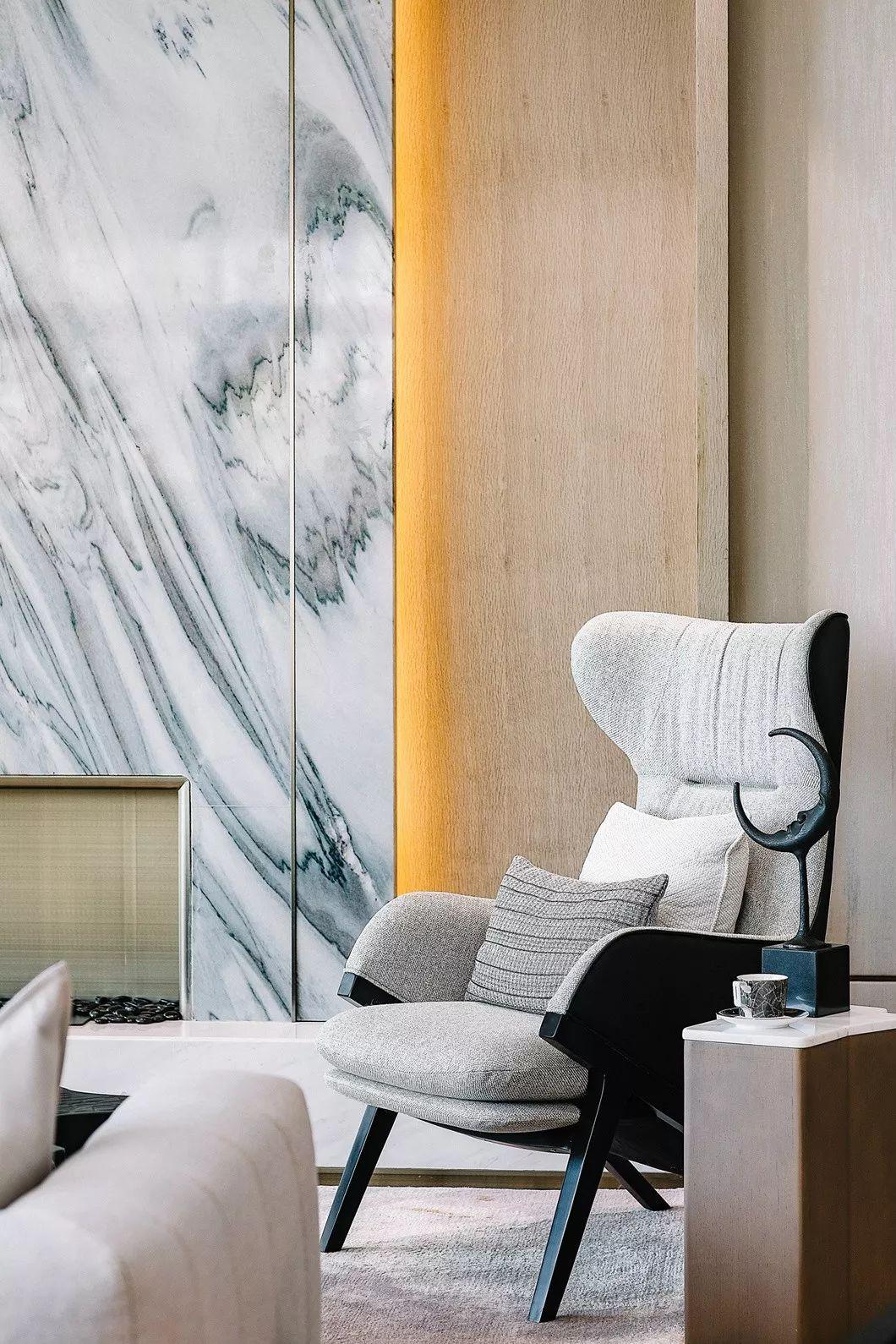 江西南昌金科博翠天下别墅样板间室内装饰设计/AOD艾地设计