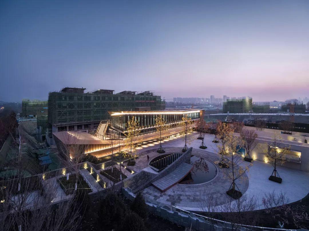 济南万科如园展示中心建筑设计/日清设计