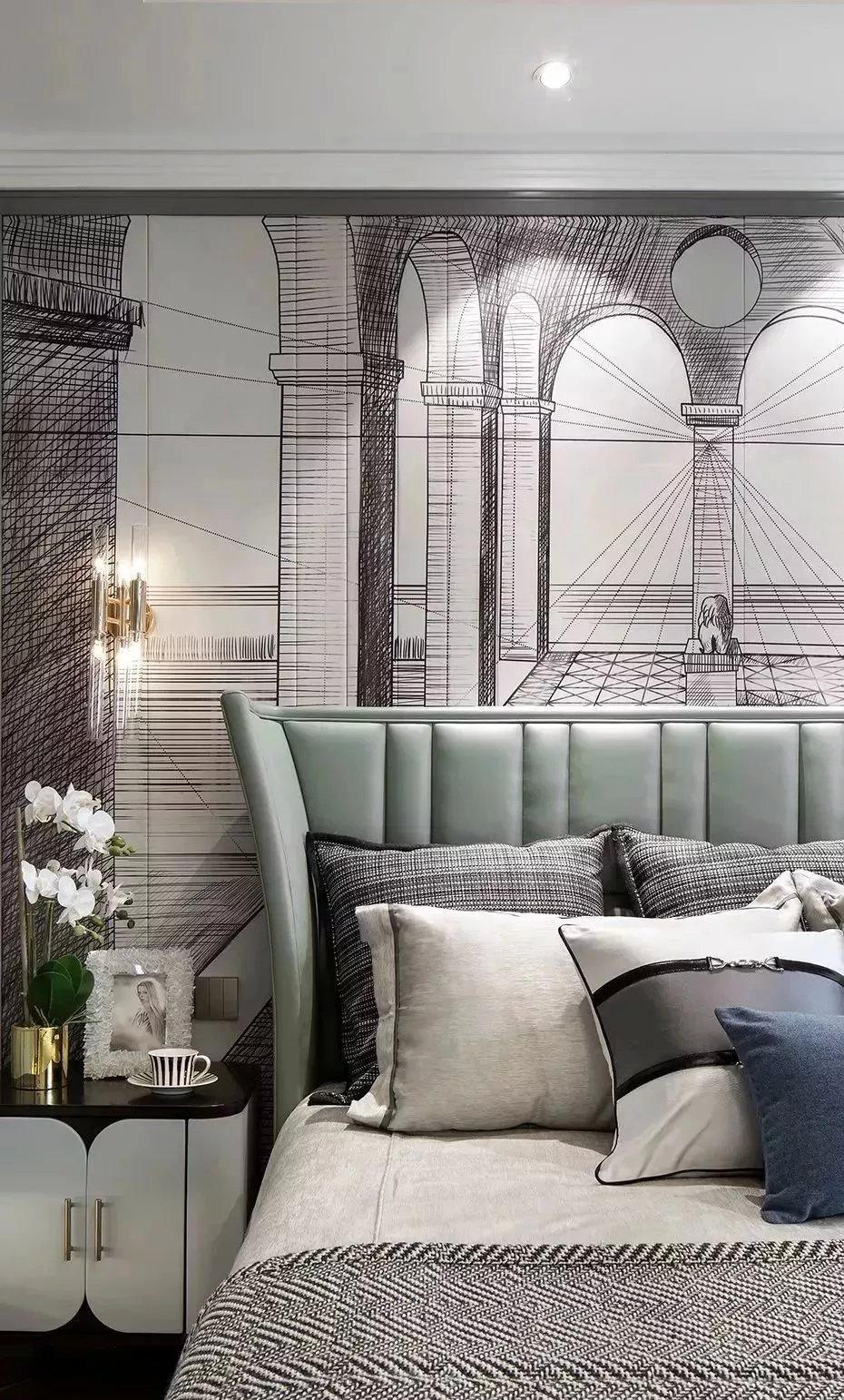 潍坊绿地城样板示范间室内设计
