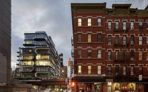 纽约520 West 28th公寓建筑letou国际米兰下载/扎哈哈迪德Zaha Hadid