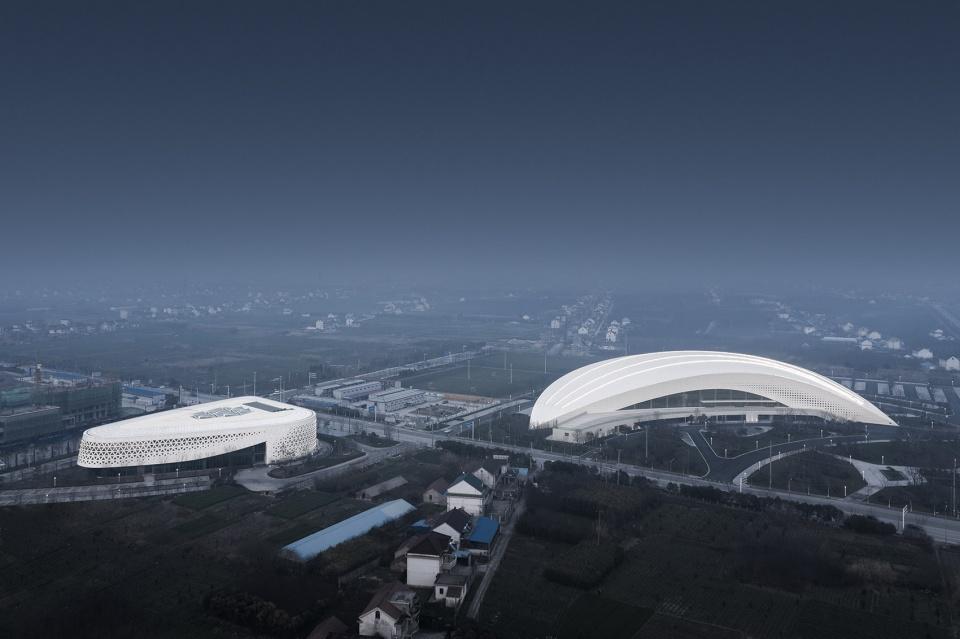 江苏如东体育中心建筑设计/同济大学建筑设计研究院