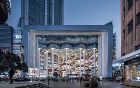 上海世茂广场建筑改造和室内letou国际米兰下载/Kokaistudios