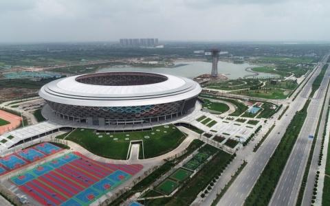咸阳市奥林匹克体育中心建筑letou国际米兰下载/PTW+CCDI