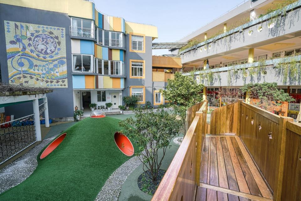 杭州五星幼儿园改造设计/三日室内设计