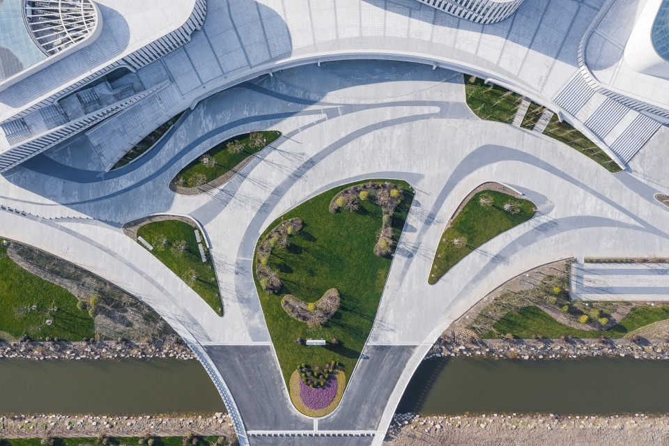 江苏如东文化中心建筑设计/同济大学建筑设计研究院